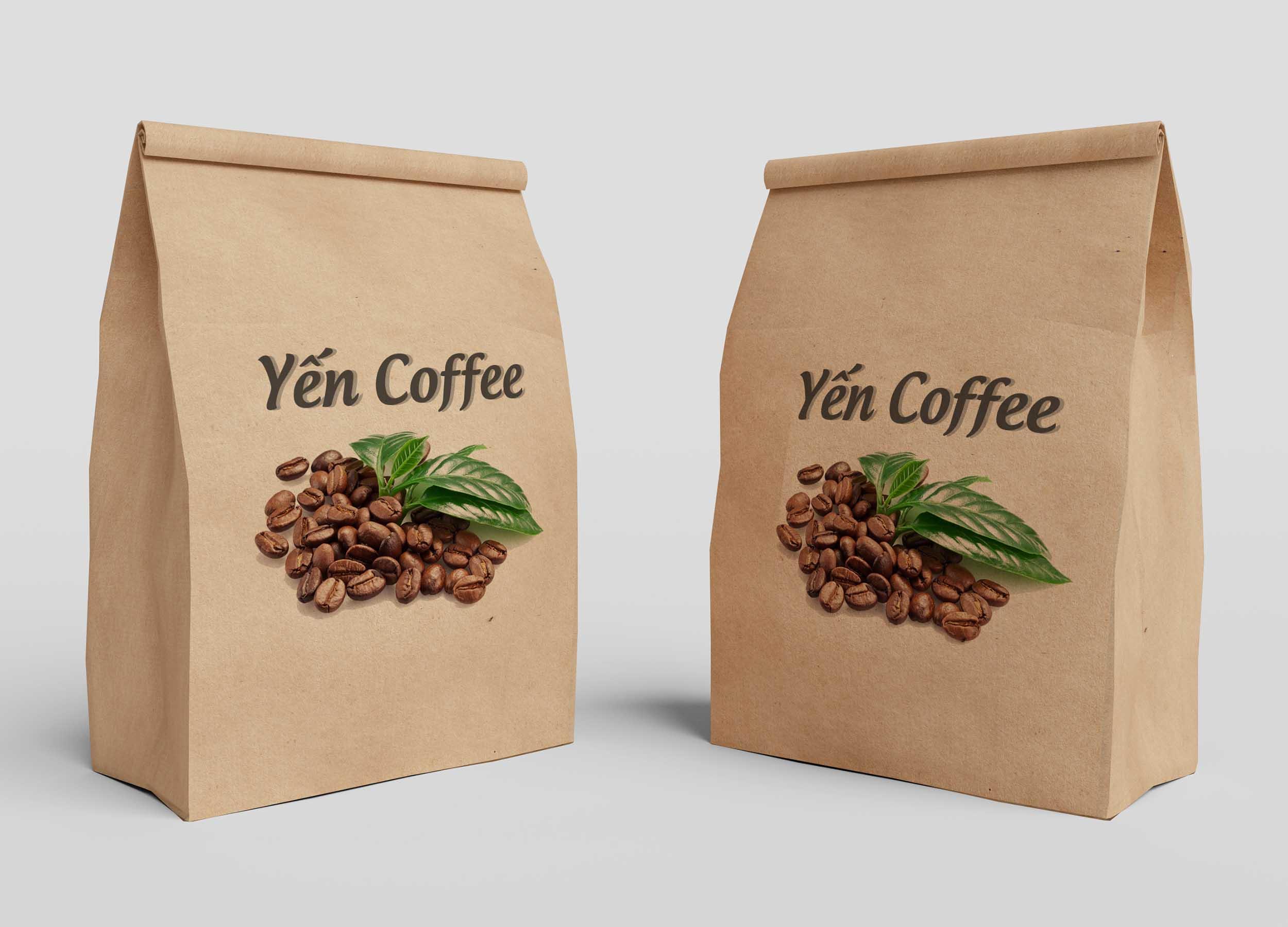 in túi giấy đựng cà phê hcm