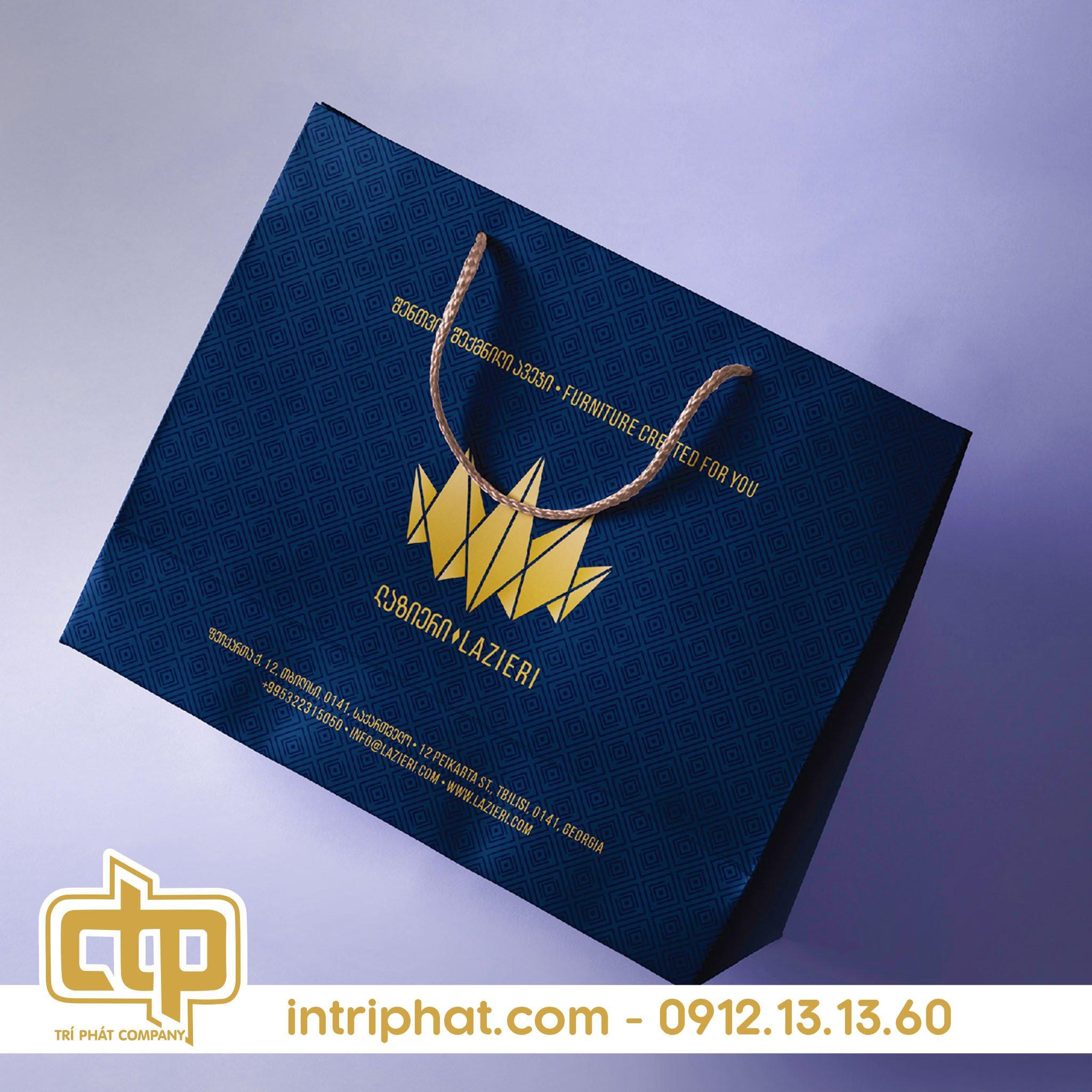 túi giấy đựng quà hcm