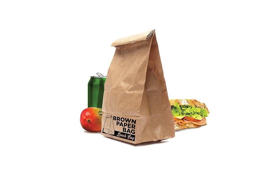 in túi giấy thực phẩm