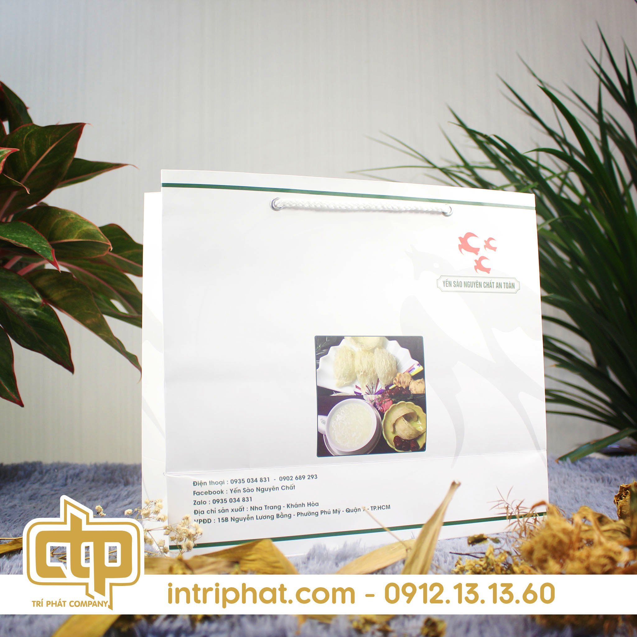 túi giấy thực phẩm giá rẻ tại tphcm