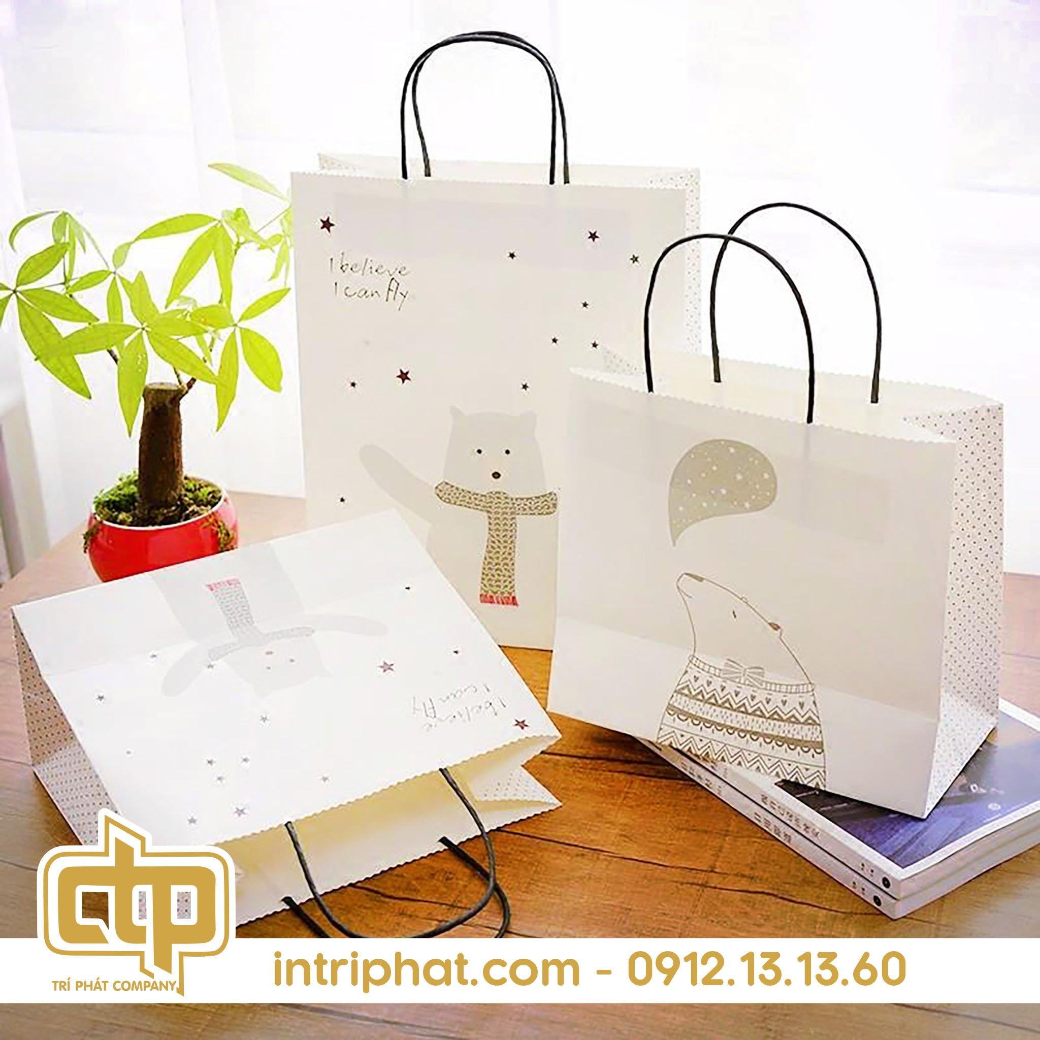 sử dụng túi giấy bảo vệ môi trường