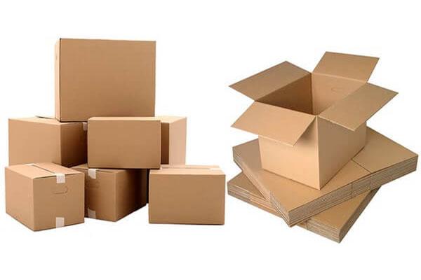 in hộp carton đóng hàng