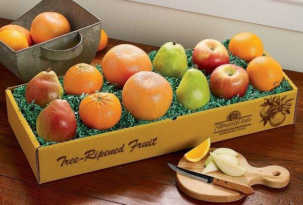 hộp giấy đựng trái cây đẹp