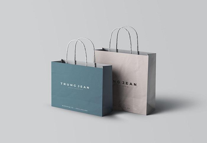 mẫu túi giấy in logo đẹp
