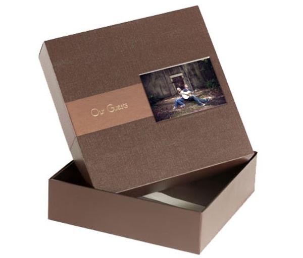 hộp giấy để đựng album cưới đẹp
