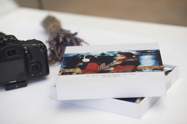 công nghệ in hộp giấy để đựng album cưới