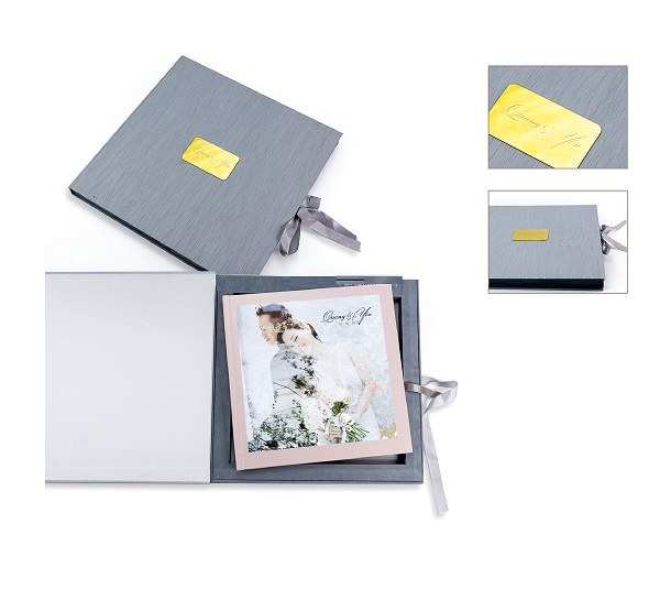 hộp giấy để đựng album cưới
