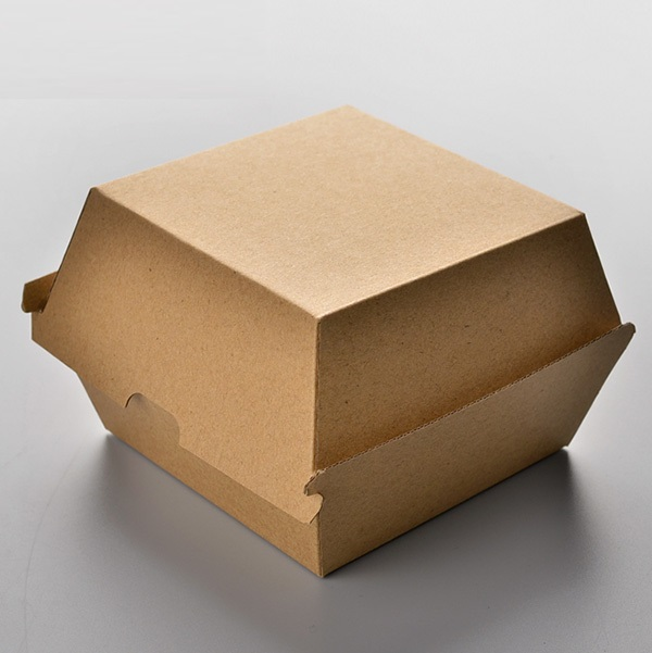 hộp giấy hamburger