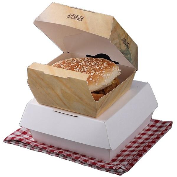 hộp giấy đựng hamburger