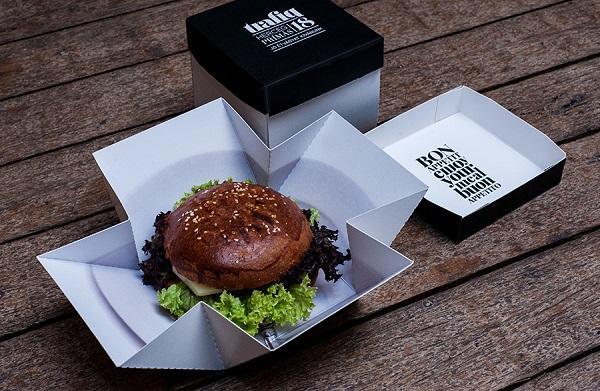 hộp đựng bánh hamburger giá rẻ