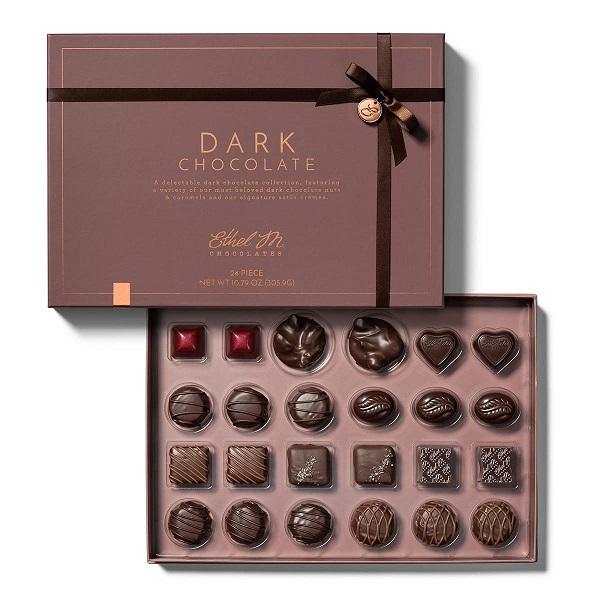 hộp giấy đựng socola đẹp sang trọng