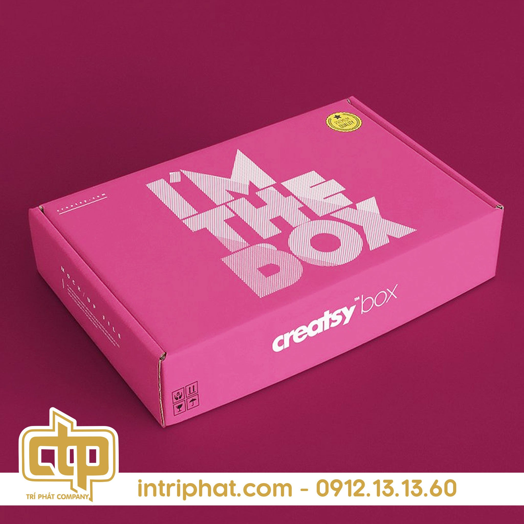 Mẫu hộp giấy đẹp bằng carton chất lượng