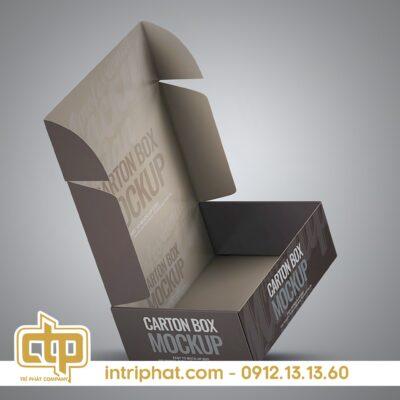 Mẫu hộp giấy đẹp bằng carton giá rẻ