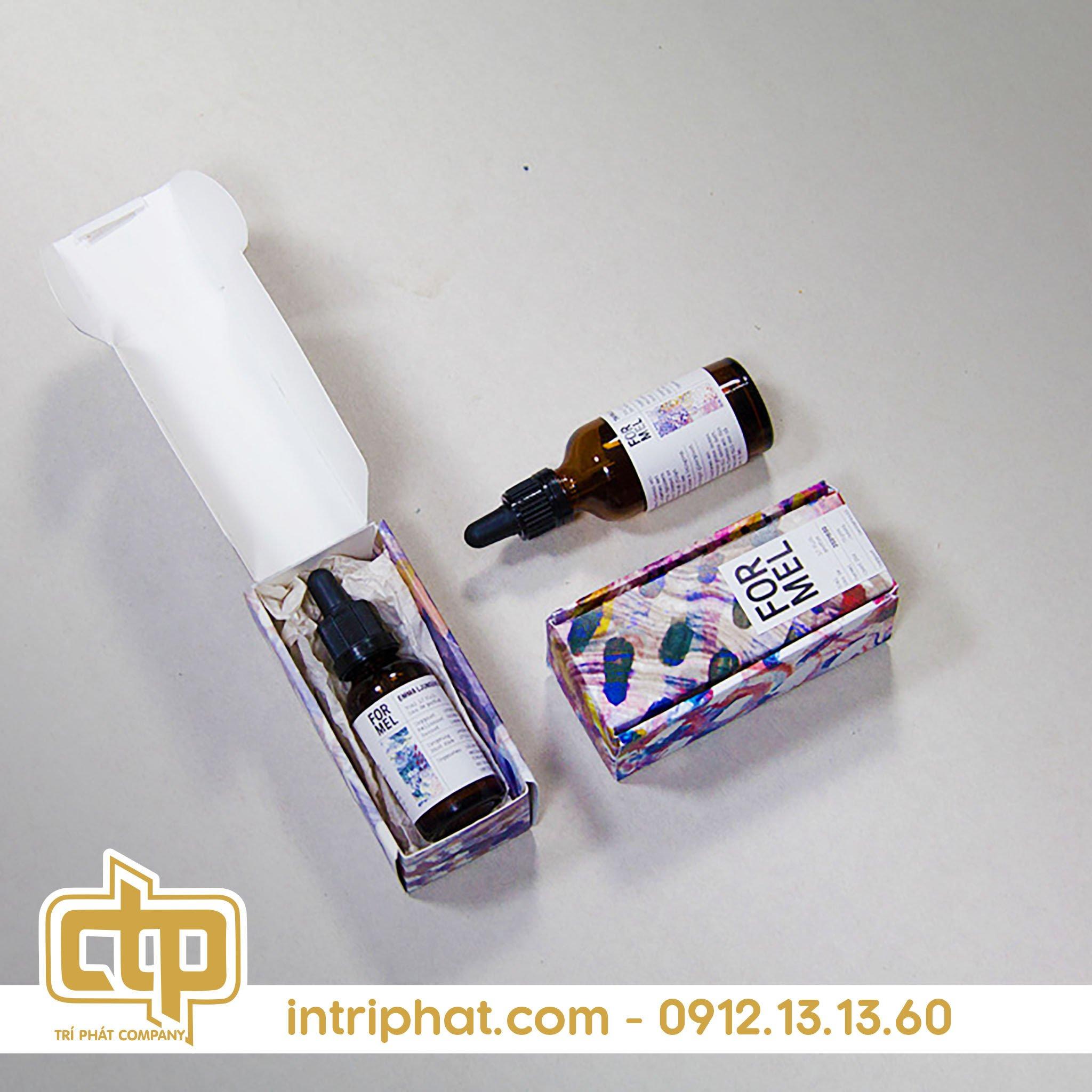 Mẫu hộp giấy đựng nước hoa chất lượng