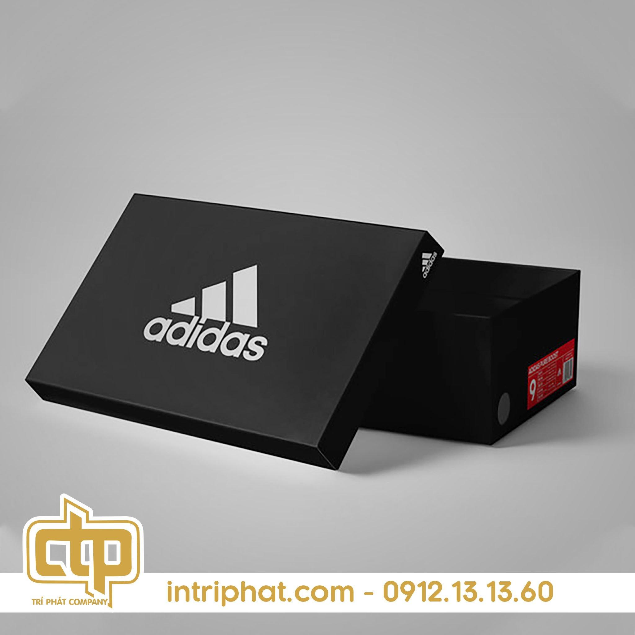 Mẫu hộp giấy đựng giày đẹp giá rẻ