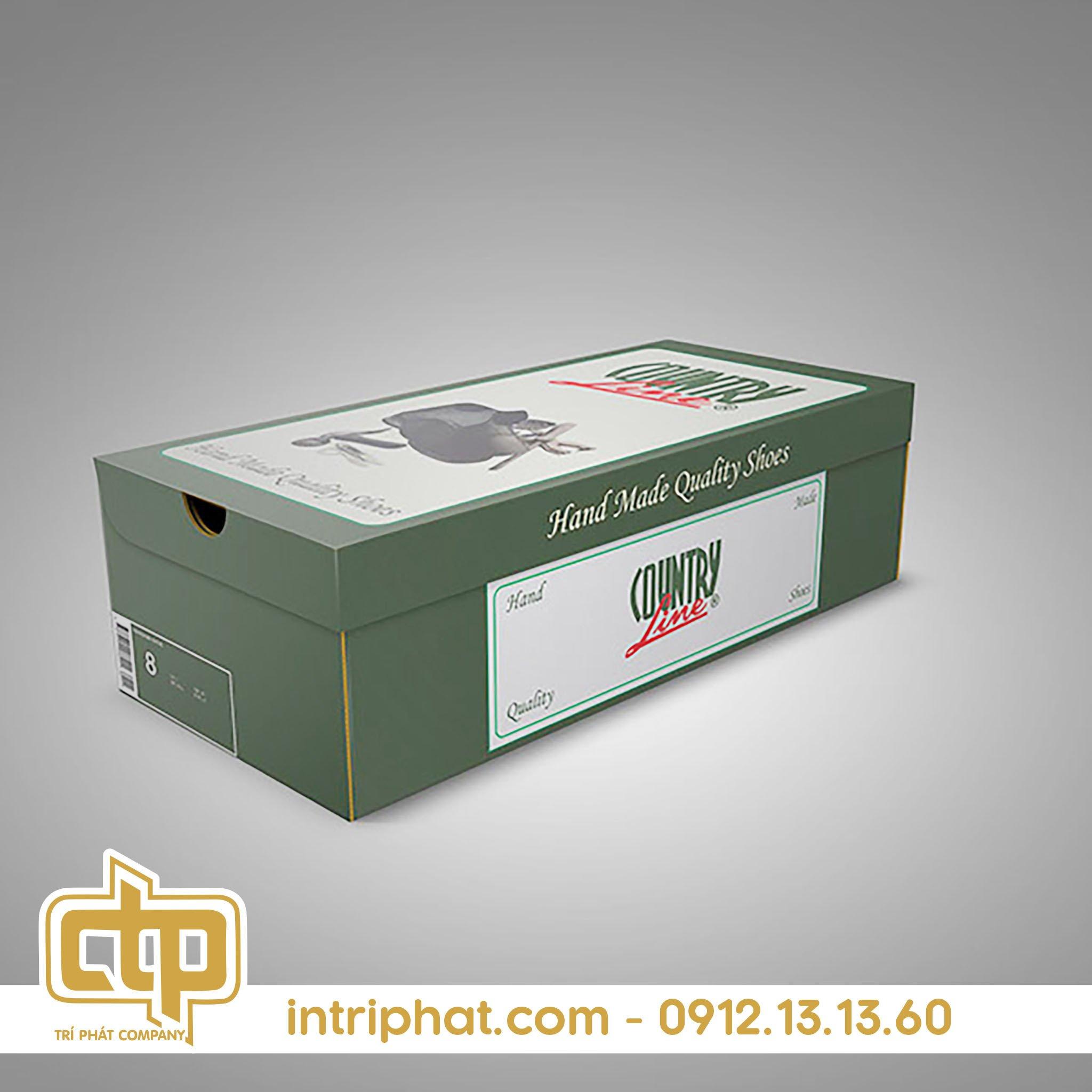 Mẫu hộp giấy đẹp đụng giày giá rẻ