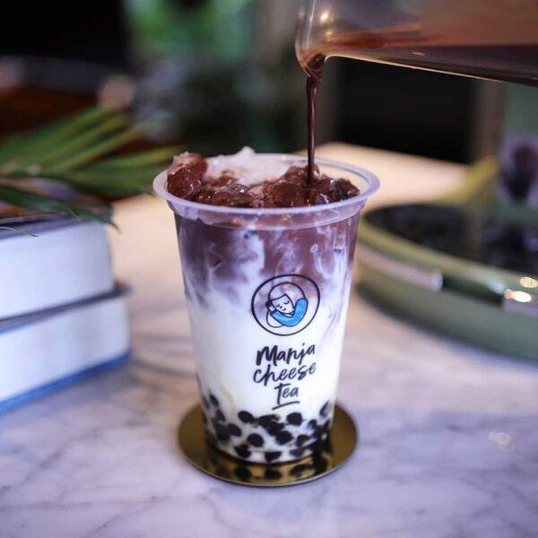 mẫu tem trà sữa đẹp thu hút