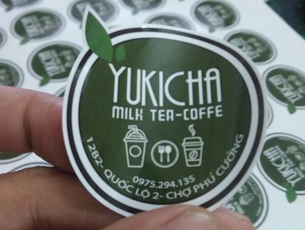 mẫu tem trà sữa đẹp chất lượng