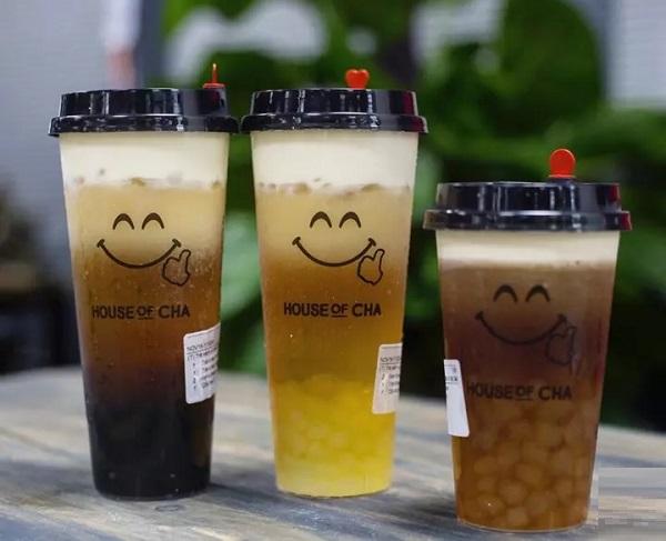 mẫu tem dán ly trà sữa